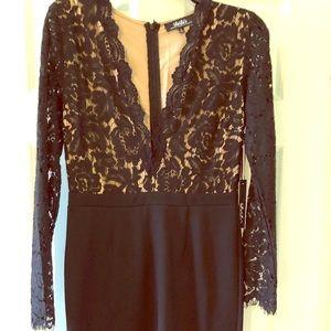 Lulus lace top dress